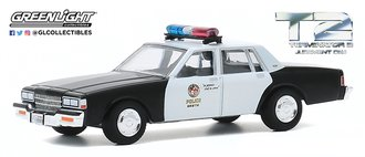 1:64 Hollywood Series 29 - Terminator 2: Judgment Day (1991) 1987 Chevy Caprice Metropolitan Police