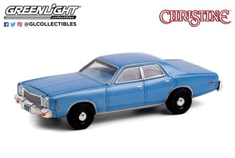 1:64 Hollywood Series 30 - Christine (1983) - Detective Rudolph Junkins' 1977 Plymouth Fury