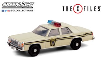 "1:64 Hollywood Series 30 - The X-Files (1993-2002 TV Series) - 1983 Ford LTD CV ""Lardis MD Police"""