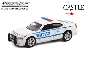 "1:64 Castle (2009-16 TV Series) - 2006 Dodge Charger LX ""New York City Police Department (NYPD)"""
