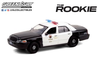 """1:64 The Rookie (2018-Current TV Series) - 2008 Ford CV PI """"Los Angeles Police Department (LAPD)"""""""