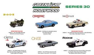 1:64 Hollywood Series 30 (Set of 6)