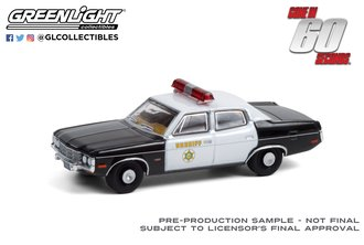 1:64 Gone in Sixty Seconds (1974) - 1973 AMC Matador - Los Angeles County Sheriff, CA