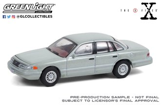 1:64 The X-Files (1993-2002 TV Series) 1993 Ford Crown Victoria - Washington D.C. Unmarked Agent
