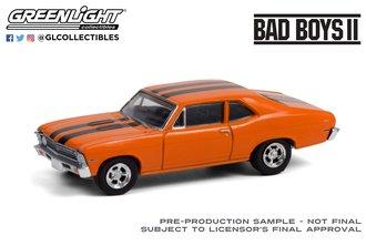 1:64 Hollywood Series 31 - Bad Boys II (2003) - 1968 Chevrolet Nova