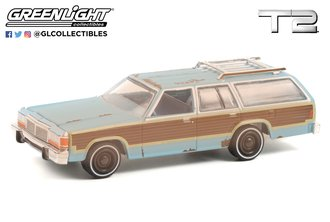 1:64 Hollywood Series 32 - Terminator 2: Judgment Day (1991) - 1980 Ford LTD Country Squire