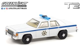 1:64 Hollywood Series 32 - Terminator 2: Judgment Day (1991) - 1983 Ford LTD Crown Victoria Police