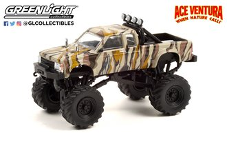 1:64 Ace Ventura: When Nature Calls (1995) 1989 Chevrolet S-10 Extended Cab Monster Truck