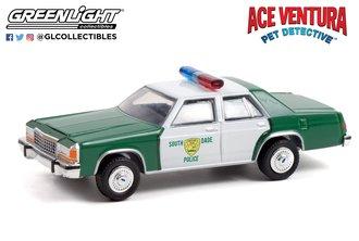 1:64 Ace Ventura: When Nature Calls (1995) - 1983 Ford LTD Crown Victoria Miami Police Department