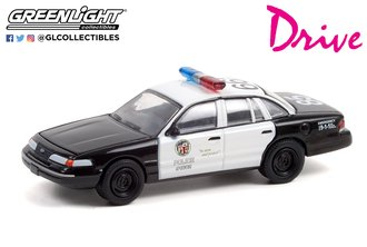 1:64 Drive (2011) - 1992 Ford CV Police Interceptor - Los Angeles Police Department (LAPD)