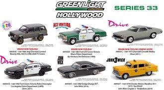 1:64 Hollywood Series 33 (Set of 6)