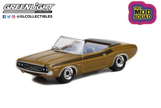 1:64 The Mod Squad (1968-73 TV Series) - 1971 Dodge Challenger 340 Convertible - Gold