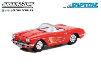 1:64 Hollywood Series 34 - Riptide (1984-86 TV Series) - 1960 Chevrolet Corvette C1