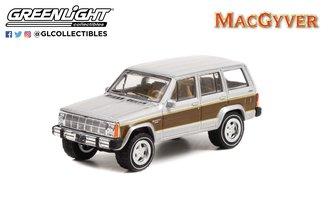 1:64 Hollywood Series 34 - MacGyver (1985-92 TV Series) - 1986 Jeep Cherokee Wagoneer