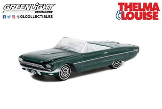 1:64 Hollywood Series 34 - Thelma & Louise (1991) - 1966 Ford Thunderbird Convertible
