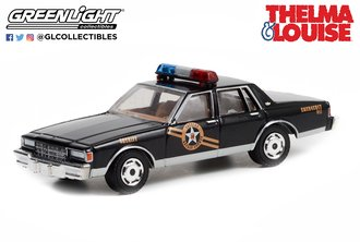 1:64 Hollywood Special Edition - Thelma & Louise (1991) - 1981 Chevy Caprice Classic - AZ Sheriff