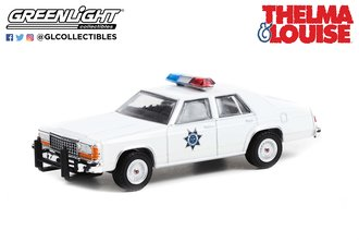 1:64 Hollywood Special Edition - Thelma & Louise (1991) - 1983 Ford LTD Crown Vic - AZ HWY Patrol