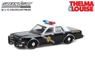 1:64 Hollywood Special Edition - Thelma & Louise (1991) - 1984 Dodge Diplomat - NM State Police