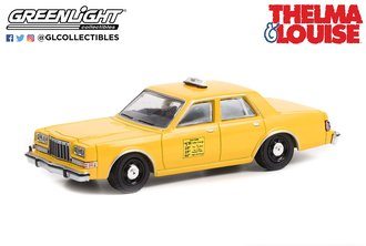 1:64 Hollywood Special Edition - Thelma & Louise (1991) - 1984 Dodge Diplomat - Taxi