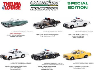1:64 Hollywood Special Edition - Thelma & Louise (1991) (Set of 6)