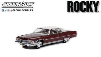 1:64 Hollywood Series 35 - Rocky (1976) - 1973 Cadillac DeVille Sedan