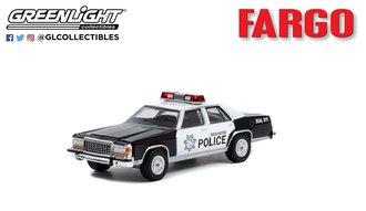 1:64 Hollywood Series 35 - Fargo (1996) - 1986 Ford LTD Crown Victoria - Brainerd, Minnesota Police