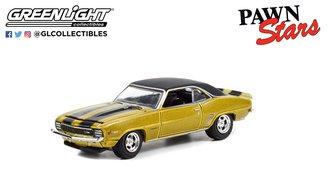 1:64 Hollywood Series 35 - Pawn Stars (2009-Present TV Series) - 1969 Chevrolet Camaro Z/28