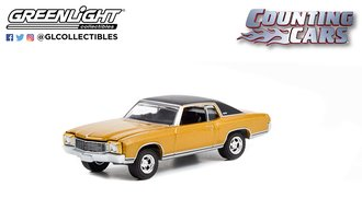 1:64 Hollywood Series 35 - Counting Cars (2012-Present TV Series) - 1972 Chevrolet Monte Carlo