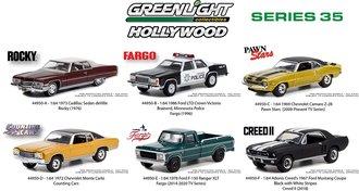 1:64 Hollywood Series 35 (Set of 6)