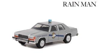 1:64 Hollywood Series 36 - Rain Man (1988) - 1983 Ford LTD Crown Victoria - Kentucky State Police