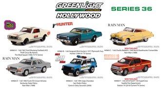 1:64 Hollywood Series 36 (Set of 6)