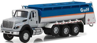 "1:64 S.D. Trucks Series 4 - 2018 International WorkStar Tanker Truck ""Gulf Oil"""