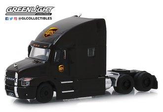 "1:64 S.D. Trucks Series 7 - 2019 Mack Anthem Truck Cab ""United Parcel Service (UPS)"" (Brown)"