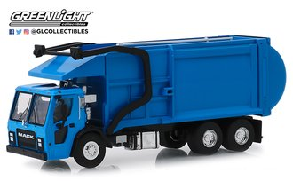 1:64 S.D. Trucks Series 7 - 2019 Mack LR Refuse Truck (Blue)