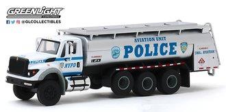 "1:64 2018 International WorkStar Tanker Truck ""New York City Police Dept (NYPD) Aviation Unit"""