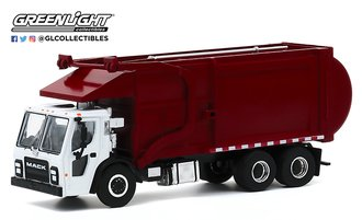 1:64 S.D. Trucks Series 10 - 2019 Mack LR Refuse Truck (White/Red)
