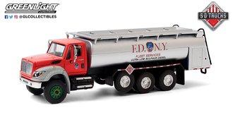 1:64 S.D. Trucks Series 11-2018 International WorkStar Tanker Truck - FDNY Ultra Low Sulphur Diesel