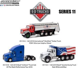 1:64 S.D. Trucks Series 11 (Set of 3)