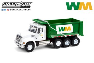 1:64 S.D. Trucks Series 12 - 2020 Mack Granite Dump Truck - Waste Management