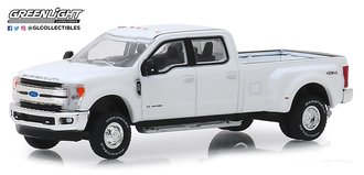 1:64 Dually Drivers Series 1 - 2018 Ford F-350 King Ranch (Oxford White)