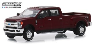 1:64 Dually Drivers Series 1 - 2019 Ford F-350 King Ranch (Ruby Red)
