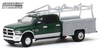 "1:64 2018 RAM 3500 Dually Service Bed w/Ladder Rack ""Aluminum Service Body"""