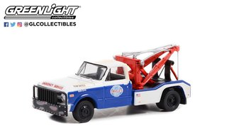 """1:64 Dually Drivers Series 9 - 1969 Chevrolet C-30 Dually Wrecker """"Orville's Day & Nite Service"""""""