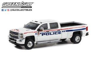 "1:64 Dually Drivers Series 9 - 2018 Chevrolet Silverado 3500 Dually ""Durham Regional Police,Canada"""