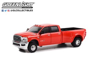 1:64 2021 RAM 3500 Dually Limited Longhorn Edition (Flame Red Clear-Coat)