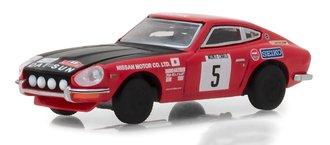"1:64 Tokyo Torque Series 4 - 1972 Datsun Safari Z ""#5 Monte Carlo Rally Nissan Motor Co. Ltd"""