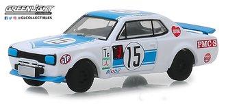 1:64 Tokyo Torque Series 5 -1972 Nissan Skyline 2000 GT-R - #15 K. Takahashi 1972 Fuji 300km Speed