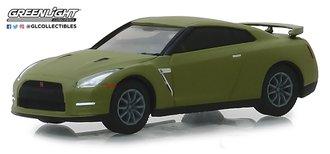 1:64 Tokyo Torque Series 5 -2015 Nissan GT-R (R35) - Matte Green
