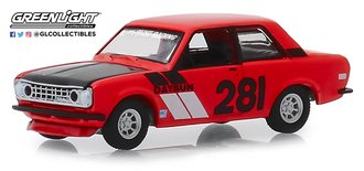 "1:64 Tokyo Torque Series 6 - 1970 Datsun 510 ""#281 Turn Right Racing"""