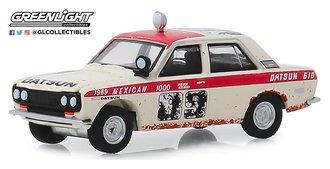 """1:64 Tokyo Torque Series 7 - 1969 Datsun 510 Sedan """"#89 BRE Peter Brock Mexican 1000 Rally"""""""